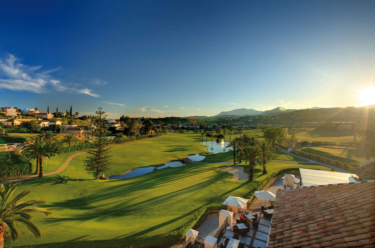 Los Naranjos Club de Marbella es uno de los campos de golf diseñados por Robert Trent Jones