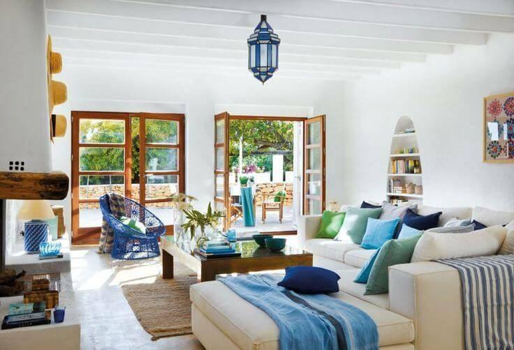 Decoración de interiores con estilo Mediterráneo
