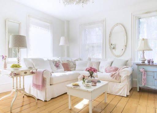 Decoración de interiores con estilo Shabby Chic