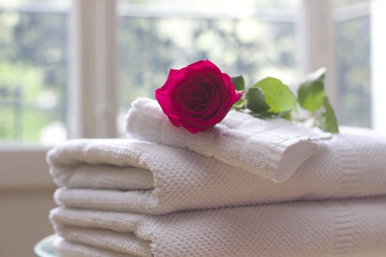 Toallas perfumadas para conseguir buen olor en la vivienda
