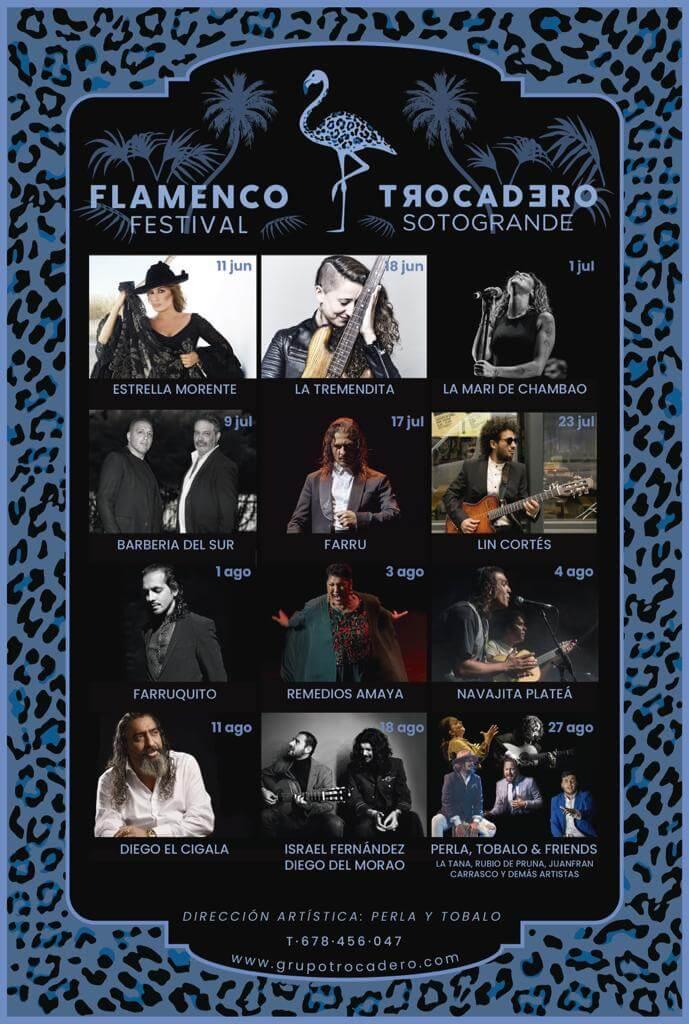 Cartel Festival Flamenco Trocadero