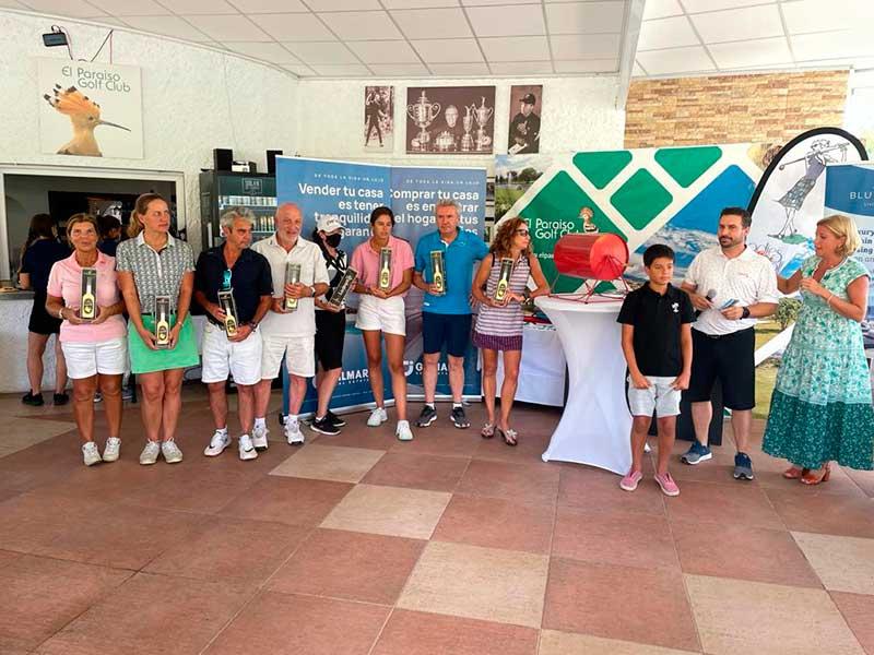 entrega de premios  de III Torneo Ladys in Golf