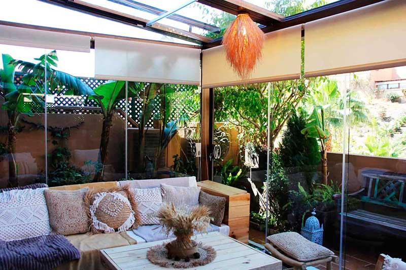 decorar terraza estilo slow life