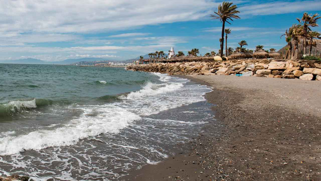 Playa principal de Sotogrande